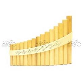 Пан-флейта HORA Panpipe 15 acacia Soprano
