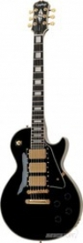 EPIPHONE LP BLACK BEAUTY EBONY GLD HDWE 3 PICKUP