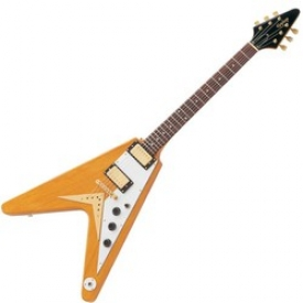 EPIPHONE 1958 KORINA FLYING V EBONY