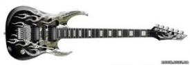 DEAN MAB1 Michael Angelo Batio Armored Flame