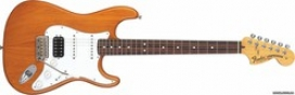 FENDER AMERICAN DELUXE STRATOCASTER HSS RW QMT AM
