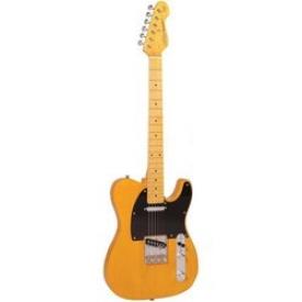 Гитара электро VINTAGE V-52BS BUTTERSCOTCH
