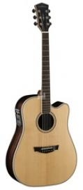 Электроакустическая гитара Cort PW560 Nat