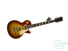 WOODSTOCK LES PAUL STANDARD PLUS TOBACCO SUNBURST
