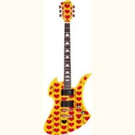 Гитара электро FERNANDES BURNY  YH-JR.HY W/SC