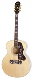 EPIPHONE PR-5E NATURAL GOLD HDWE (w/ Shadow Preamp)