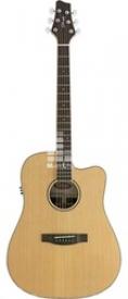 Электроакустическая гитара Stagg NA60CBB