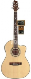 Электроакустическая гитара Stagg SW306CE
