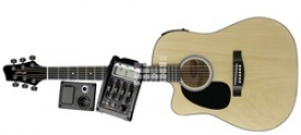 Электроакустическая гитара Stagg SW203CETU LH