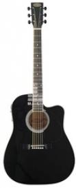 Электроакустическая гитара Stagg SW203CE