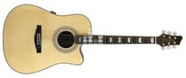 Электроакустическая гитара Stagg NA74CBB