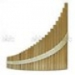 Пан-флейта HORA Panpipe 29 acacia d'Bass